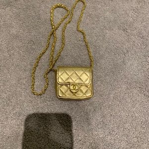 Vintage Chanel Micro Mini Cross Body